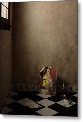 Metal Print featuring the photograph Johannes Vermeer Left by Levin Rodriguez