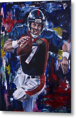 John Elway Metal Print by Mark Courage