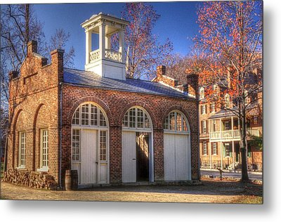 John Browns Fort - Harpers Ferry West Virginia - Modern Day Autumn Metal Print by Michael Mazaika