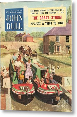 John Bull 1950s Uk Holidays Narrow Metal Print by The Advertising Archives