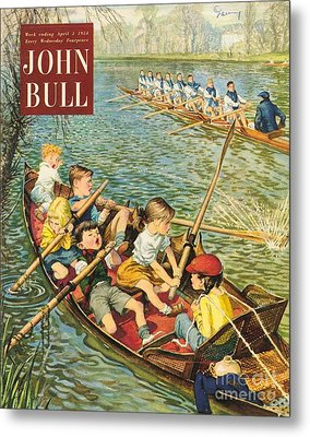 John Bull 1950s Uk Rowing Training Metal Print by The Advertising Archives