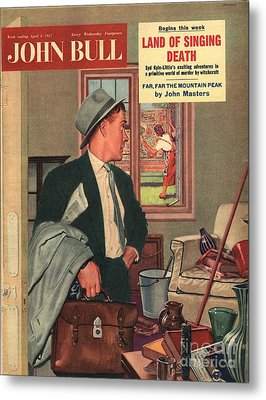John Bull 1957 1950s Uk Cleaning Metal Print by The Advertising Archives