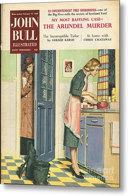 John Bull 1959 1950s Uk Cooking Metal Print by The Advertising Archives