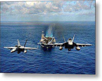 John C. Stennis Carrier Strike Group Metal Print