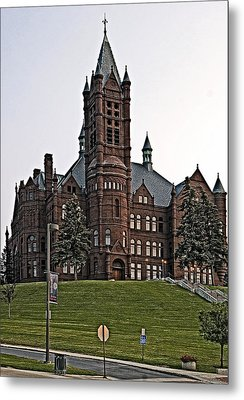 John Crouse Memorial College For Women Metal Print by Andy Crawford