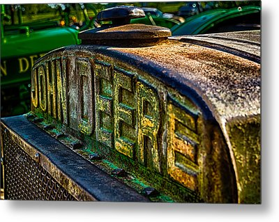 Metal Print featuring the photograph John Deere by Jay Stockhaus