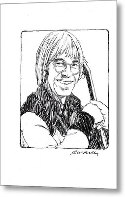 John Denver Metal Print by J W Kelly