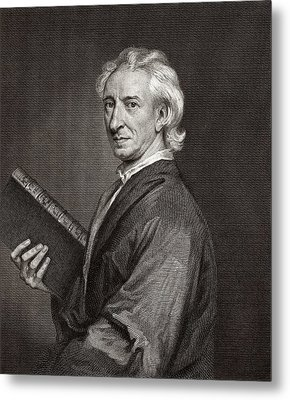 John Evelyn Metal Print by Middle Temple Library