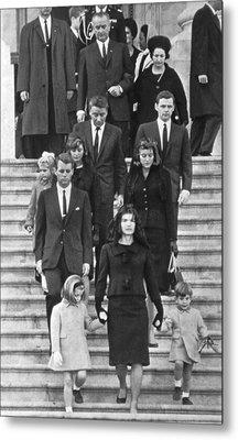John F. Kennedy Funeral Metal Print