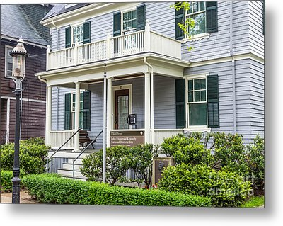 John Fitzgerald Kennedy Birthplace Metal Print by Susan Cole Kelly