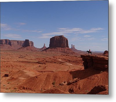 John Ford's Point In Monument Valley Metal Print by Keith Stokes