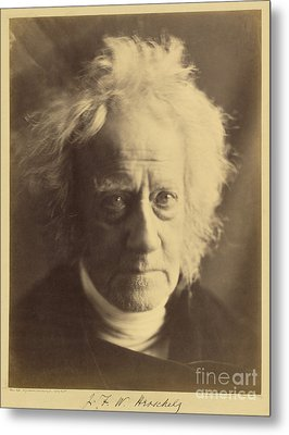 John Frederick William Herschel 1867 Metal Print by Getty Research Institute