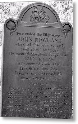 John Howland Metal Print by Janice Drew