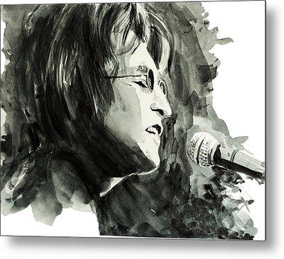 John Lennon 2 Metal Print by Bekim Art