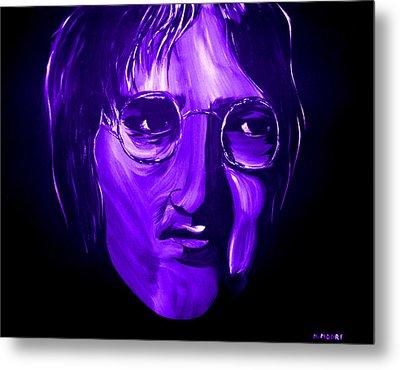 John Lennon 5 Metal Print by Mark Moore