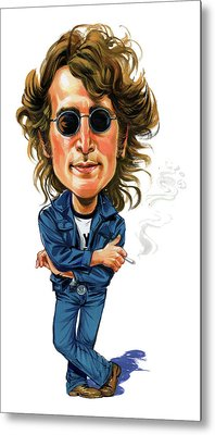 John Lennon Metal Print by Art
