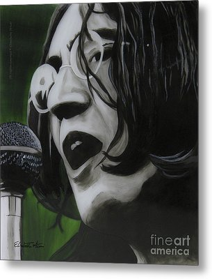 John Lennon Metal Print by Betta Artusi