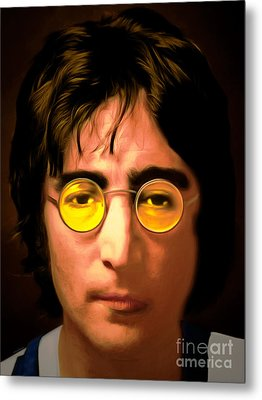 John Lennon Imagine 20150305 Metal Print