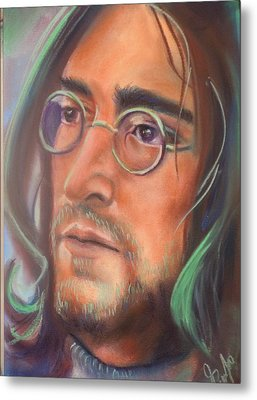 John Lennon Metal Print by Mark Anthony