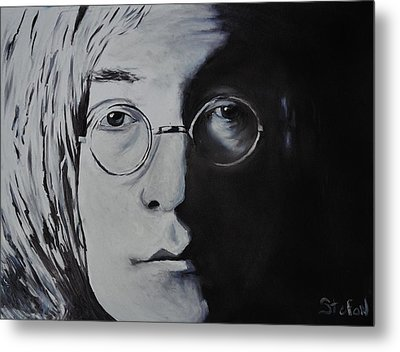 John Lennon Metal Print by Stefon Marc Brown
