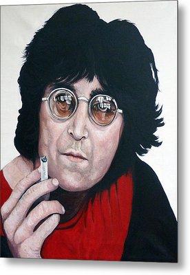 John Lennon Metal Print by Tom Roderick