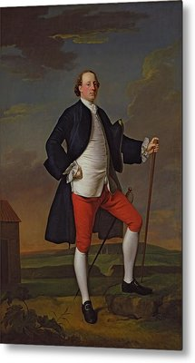 John Manners, Marquess Of Granby, 1745 Metal Print by Allan Ramsay