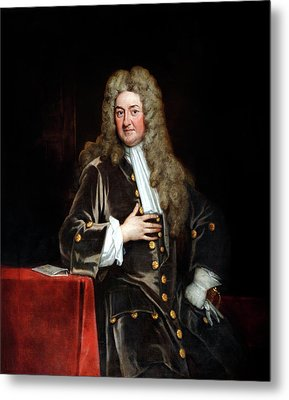 John Radcliffe Metal Print by Bodleian Museum/oxford University Images