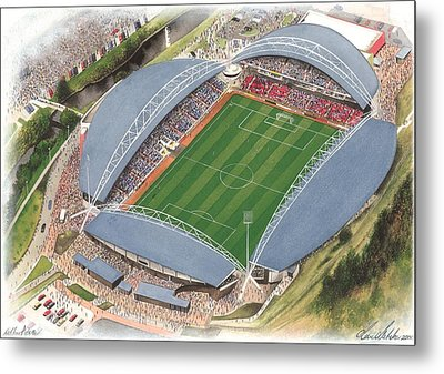 John Smith's Stadium - Huddersfield Town Metal Print