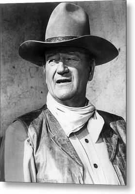 John Wayne In Rio Lobo  Metal Print by Silver Screen