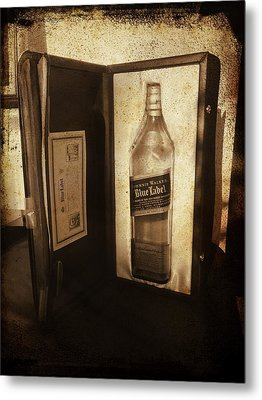 Johnnie Walker - Still Going Strong Metal Print by Richard Reeve