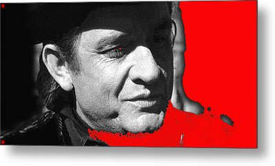 Metal Print featuring the photograph Johnny Cash Music Homage Ring Of Fire Old Tucson Arizona 1971 by David Lee Guss