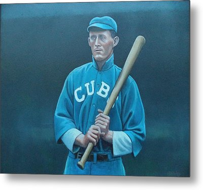 Johnny Evers Metal Print by Mark Haley