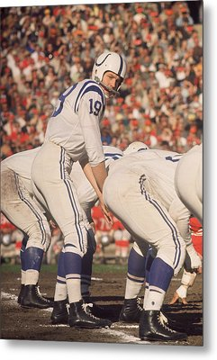 Johnny Unitas  Metal Print by Retro Images Archive