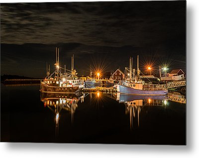 John's Cove Reflections - Revisited Metal Print