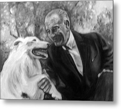 Johnson And Blanco Metal Print by Martha Suhocke