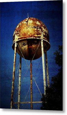 Joiner Water Tower Metal Print