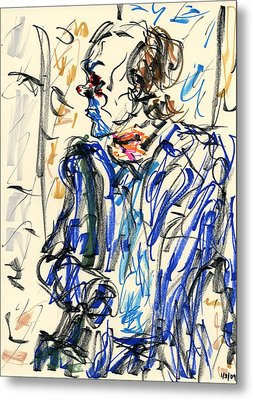 Joker - Bozo Metal Print by Rachel Scott