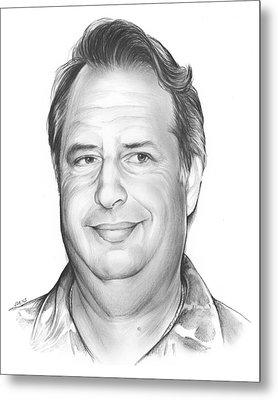 Jon Lovitz Metal Print by Greg Joens