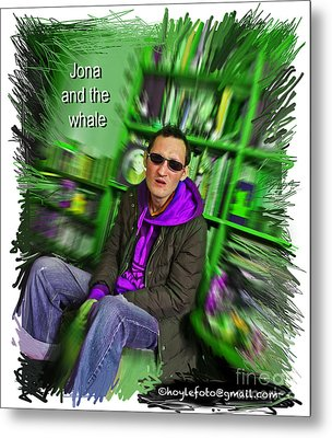 Jonah And The Whale Fan Metal Print