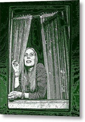 Metal Print featuring the photograph Joni by Allen Beilschmidt
