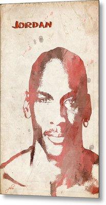 Jordan Metal Print by Paulette B Wright