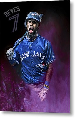 Jose Reyes Metal Print by Bill Cubitt