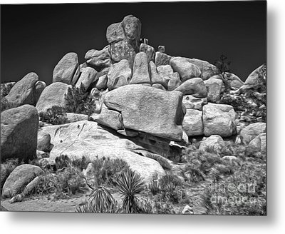 Joshua Tree - 15 Metal Print by Gregory Dyer
