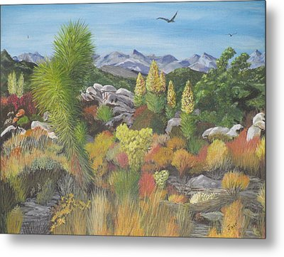 Joshua Tree Park Metal Print by Hilda and Jose Garrancho