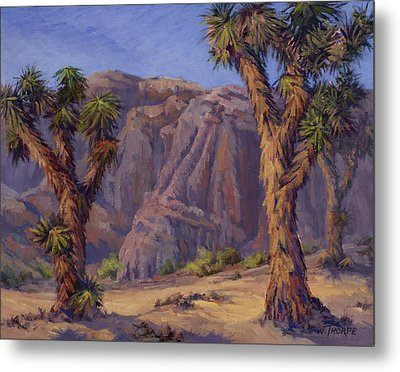 Joshua Trees- Mojave Metal Print by Jane Thorpe