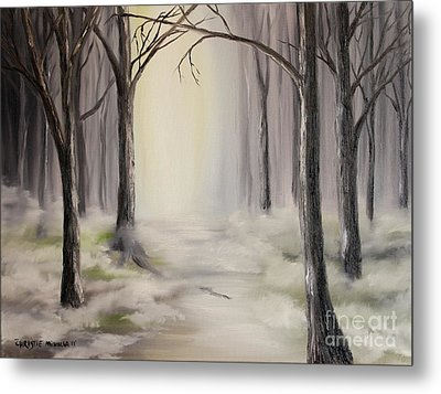 Metal Print featuring the painting Journey by Christie Minalga