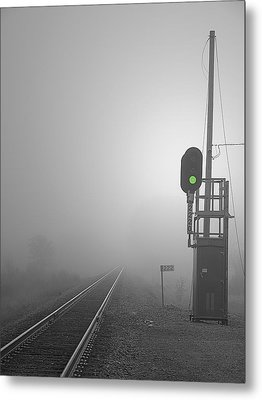 Journey Into The Unknown Metal Print by Judy  Johnson