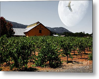 Journey Through The Valley Of The Moon 5d24485 Metal Print by Wingsdomain Art and Photography