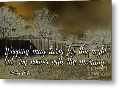 Joy In The Morning Metal Print