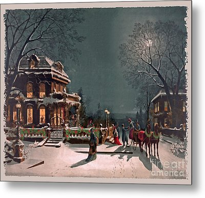 Joy Of The Season Metal Print by Lianne Schneider